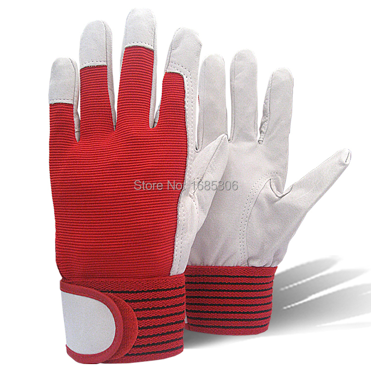 Best selling products mechanic work glove leather welding coat heavy industrial glove sport glove(China (Mainland))