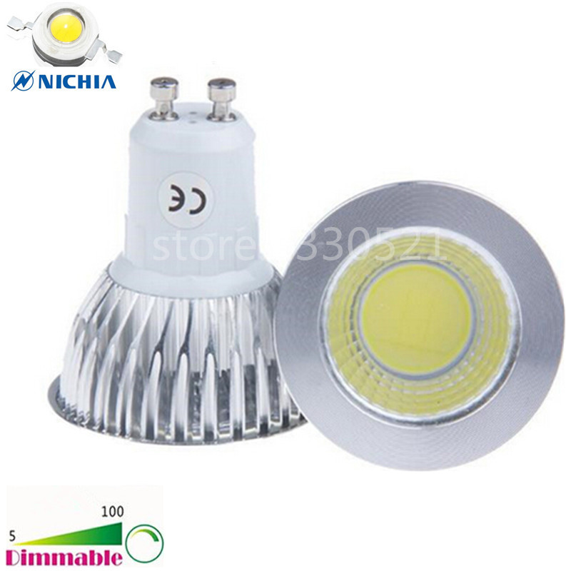 Super Bright Dimmable AC 110V 220V GU 10 6W 9W 12W LED COB Spotlight Spot Light Bulbs MR16 GU5.3 GU10 E14 E26 E27 B22 LED Lamp(China (Mainland))