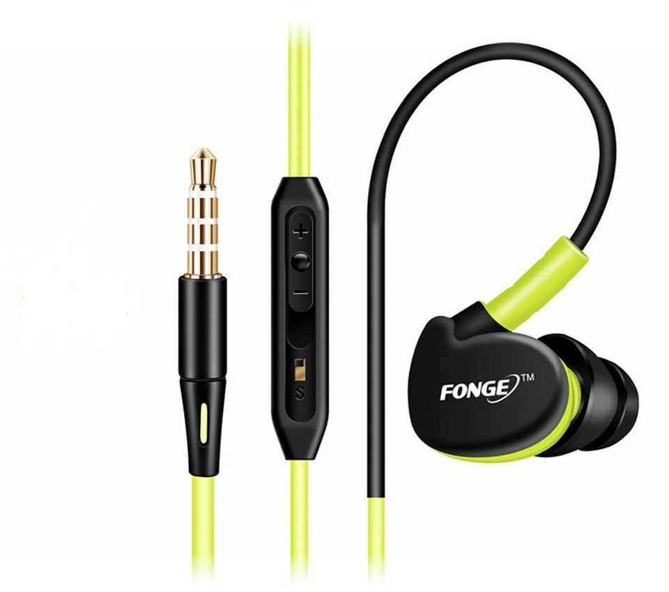 Sport Headphones Earphones With Mic Running Stereo Bass Music Headset For All Mobile Phone