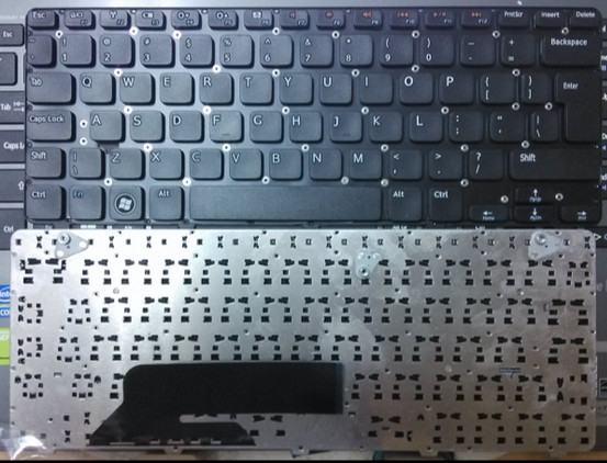 New UI keyboard for DELL Inspiron M101Z-1120 M101 M102 M102Z-1122 1120 1121 keyboard big Enter key without frame(China (Mainland))