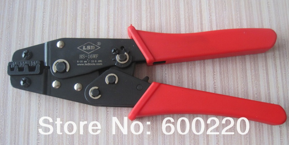 Mini Crimping tool for crimping insulated bootlace ferrules cord end terminals 6-16mm2 crimping plier crimper hand tool HS-16WF