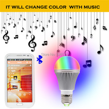 RGB Wireless Bluetooth Smart LED Bulb for Android/iOS