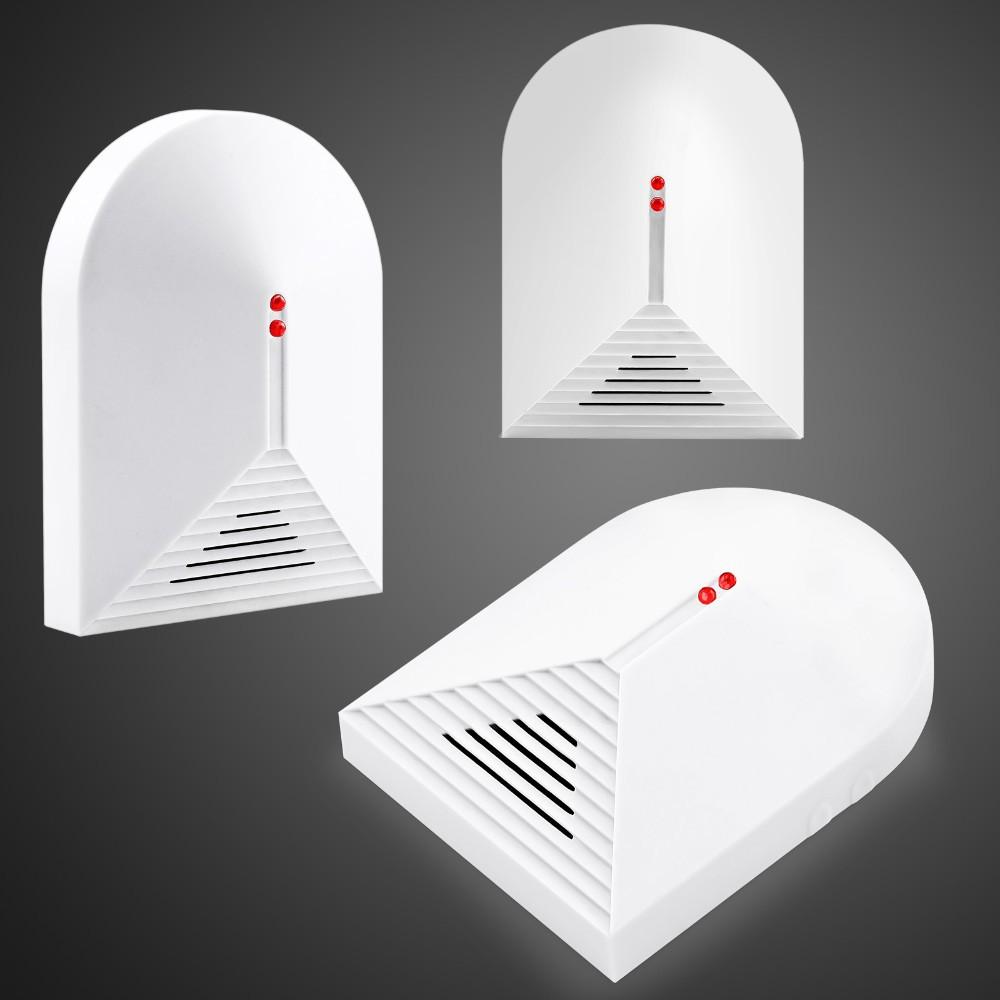 Free shipping Wireless Glass Break Detector Sensor for Home Burglar Alarm Adjustable Sensitivity 315MHz / 433MHz