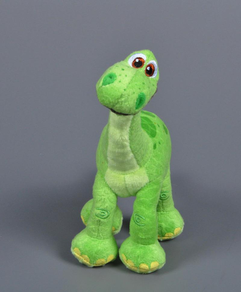 18cm Pixar Movie The Good Dinosaur stuffed Toy Cartoon Arlo dinosaur plush doll Kawaii Green Arlo toy for children Birthday Gift(China (Mainland))