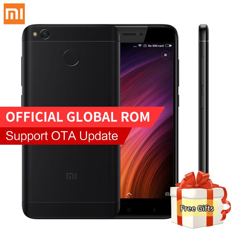 Original Xiaomi Redmi 4X Smartphone 2GB RAM 16GB ROM Snapdragon 435 Octa Core MIUI 8.2 Fingerprint 4G FDD LTE 13.0MP Redmi4X 4 X(China (Mainland))
