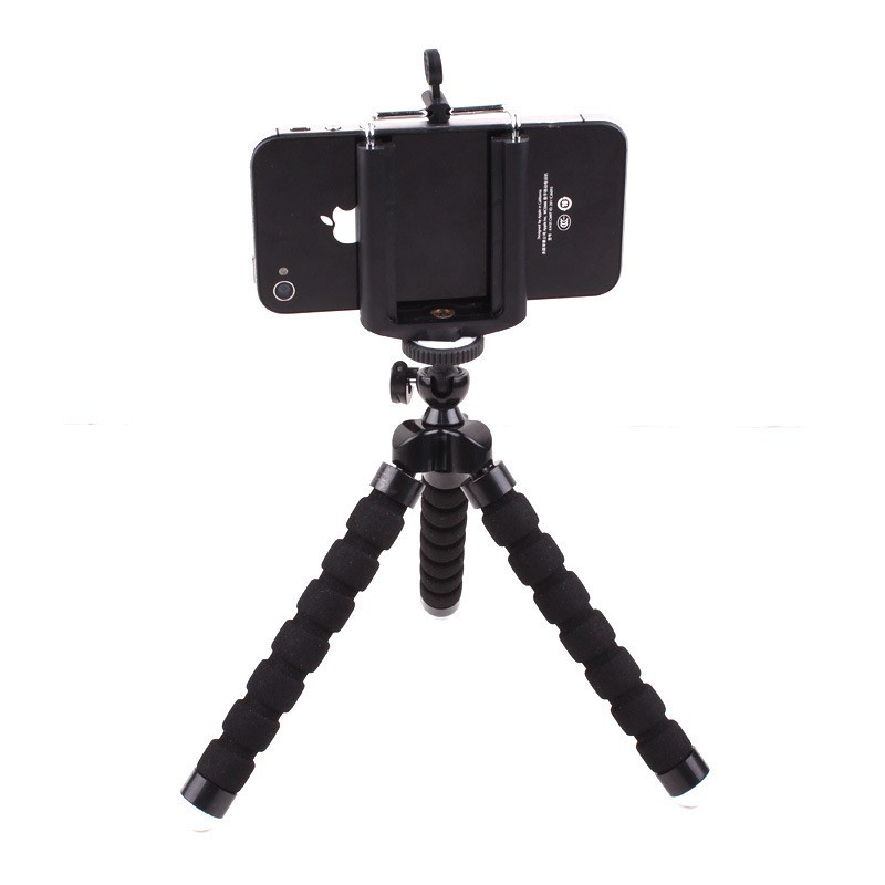 Mini Flexible Phone Holder Octopus Tripod Bracket Stand Holder Mount Monopod Styling Accessories For Samsung Xiaomi Camera DSLR