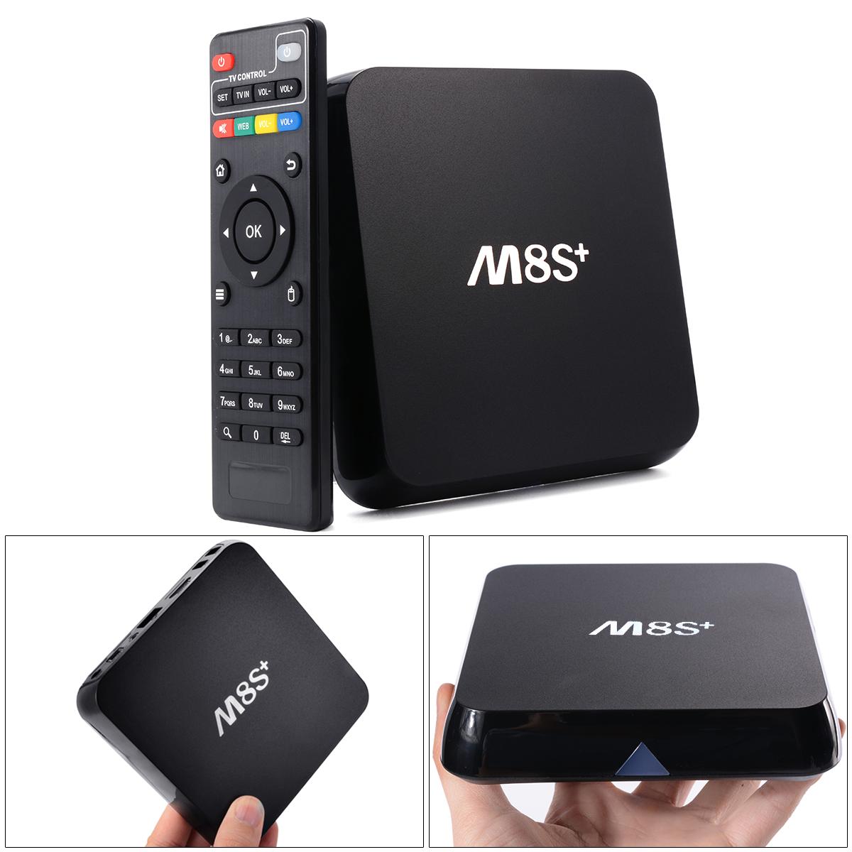 M8S Plug/M8S+ Android 5.1 TV Box Amlogic S812 Quad Core 2.4G 5G Wifi 2GB/8GB KODI Media Player Pre-install 4K H.265 BT 4.0 AH141(China (Mainland))