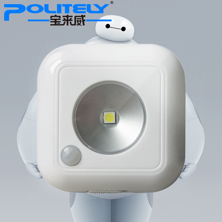 The new factory direct human induction lamp battery lamp LED light sensor light intelligent Home Furnishing(Hong Kong)