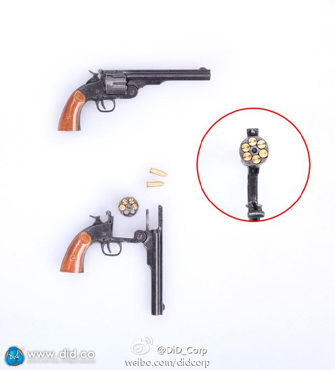 1/6 DID Chicago Mafia godfather 2 Robert Robert youth version: revolver