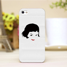 PZ0004-43-4 Cartoon For Amelie Design Customized cellphone transparent cover cases for iphone 4 5 5c 5s 6 6plus Hard Shell