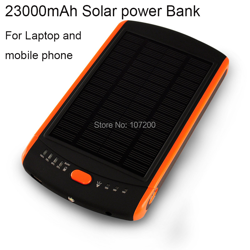 Power For Computer : Mah solar laptop charger mobile power