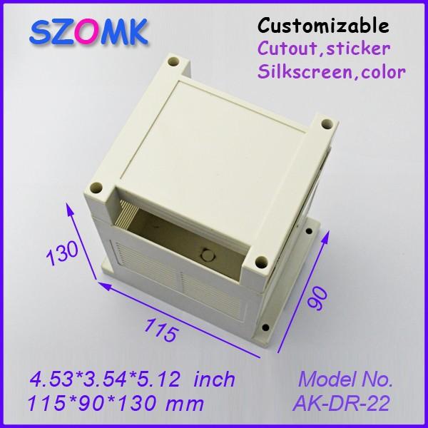 4 pcs/lot junction box pcb case plastic enclosure case plastic distribution box 115x90x130 mm 4,53x3,54x5,12 inch<br><br>Aliexpress