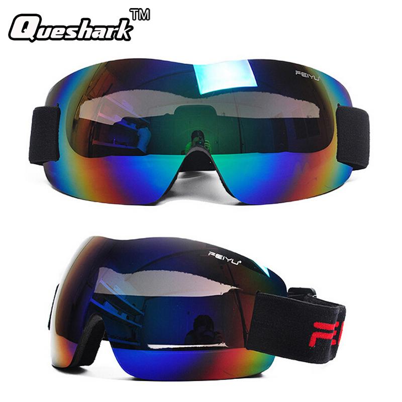 Professional Kids Men Women Ski Glasses Snowboarding Goggles Anti-fog Gafas Motocross Skiing Eyewear Snow Skate Google(China (Mainland))