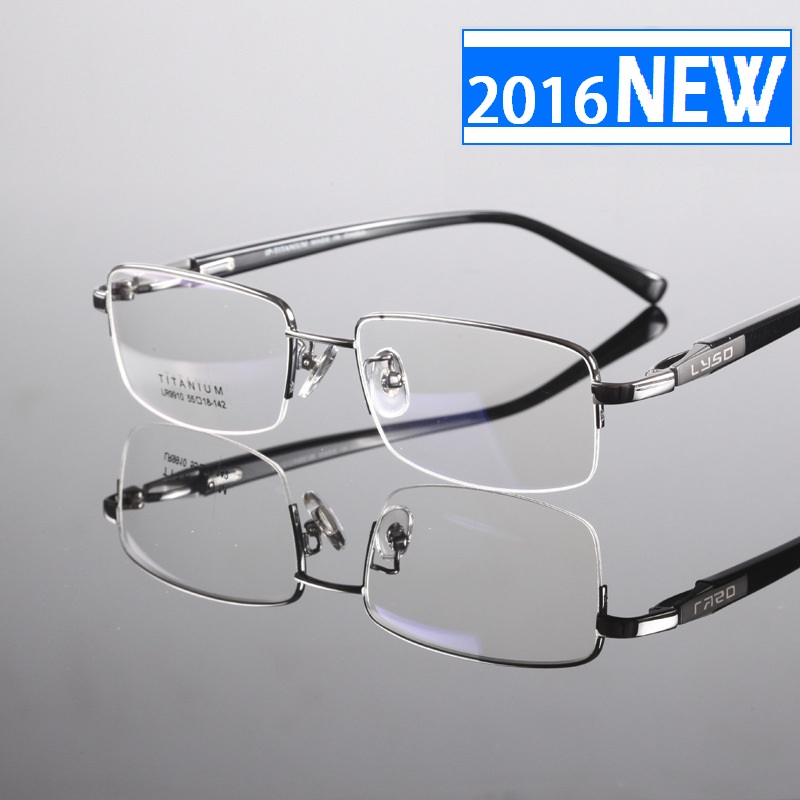 Eyeglass Frame Weight : 2016 Titanium Ultra Light Weight Eyeglass Frame Eyewear ...