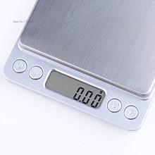 Promoción 500 g / 0.01 g precisión Digital de cocina que pesa la escala con pantalla LCD promoción del precio de fábrica 36