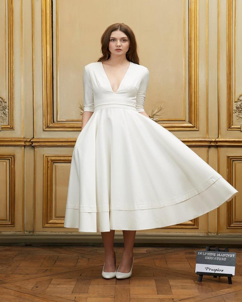 Короткие современные платья