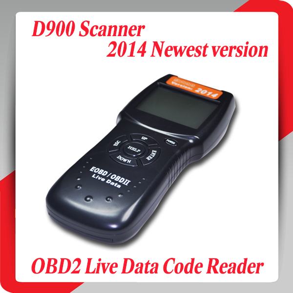 2014 New version D900 scanner Universal OBD2 EOBD CAN Fault Code Reader Scanner Diagnostic Scan For Any Car(China (Mainland))