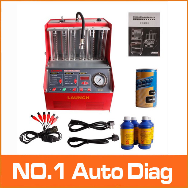 Factory Price Promotion!!100% Origninal Launch CNC-602A CNC602A injector cleaner and tester With English Panel free shipping DHL(China (Mainland))