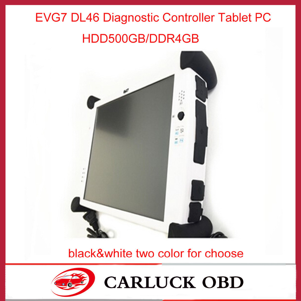2015 NEW Super Car diagnostic Tablet PC EVG7 DL46 for professional garage/ mechanic car repair services evg7 evg 7 Tablet PC(China (Mainland))