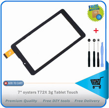 original New Touch screen Digitizer 7″ oysters T72X 3g Tablet Touch panel Glass FHF070076 Free Shipping + DIY Tools