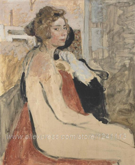 Bedroom Wall Pictures Paintings Acrylic Paint By Number Large Canvas Wall Painting Liv Edouard Vuillard Le Modele(China (Mainland))