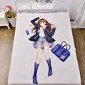 Japanese Anime Idolmaster Shimamura Uzuki Hugging Body Back Pillow Kawaii Cute Cartoon Cushion For Hotel Cafe Office