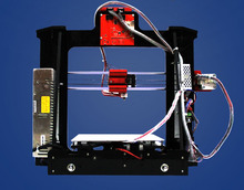 Hot selling long life and acrylic Reprap Prusa i3 DIY 3d Printer kit with 2 Roll Filament 4GB SD card and LCD