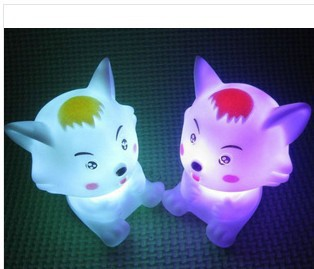 100piece/Package Small gray colorful night light led night market stall selling colorful lights wholesale creative gifts toys f(China (Mainland))