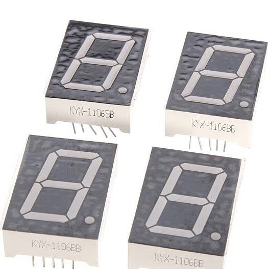 Aliexpress.com : Buy DIY 4 Digit LED Electronic Clock Kit Large Screen Red Blue Green LED With ...