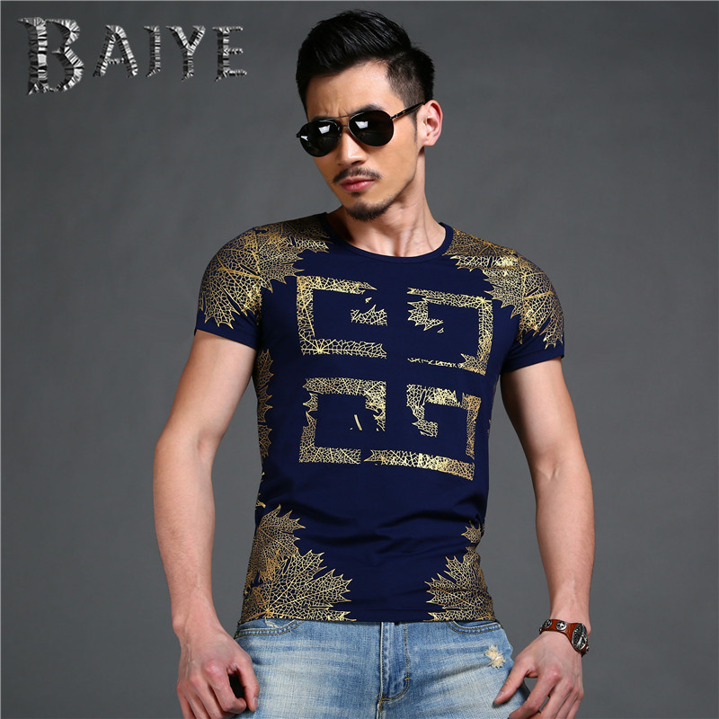 2016 summer latest design noble mens T shirt men tops short sleeve brand T-shirt male luxury t-shirt Street styleОдежда и ак�е��уары<br><br><br>Aliexpress