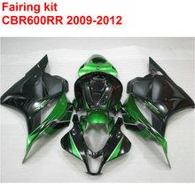 Buy Injection molding Fairing kit HONDA cbr600rr 2009 2010 2011 2012 CBR 600 RR green black ABS fairings 09 10 11 12 LK4 for $339.48 in AliExpress store