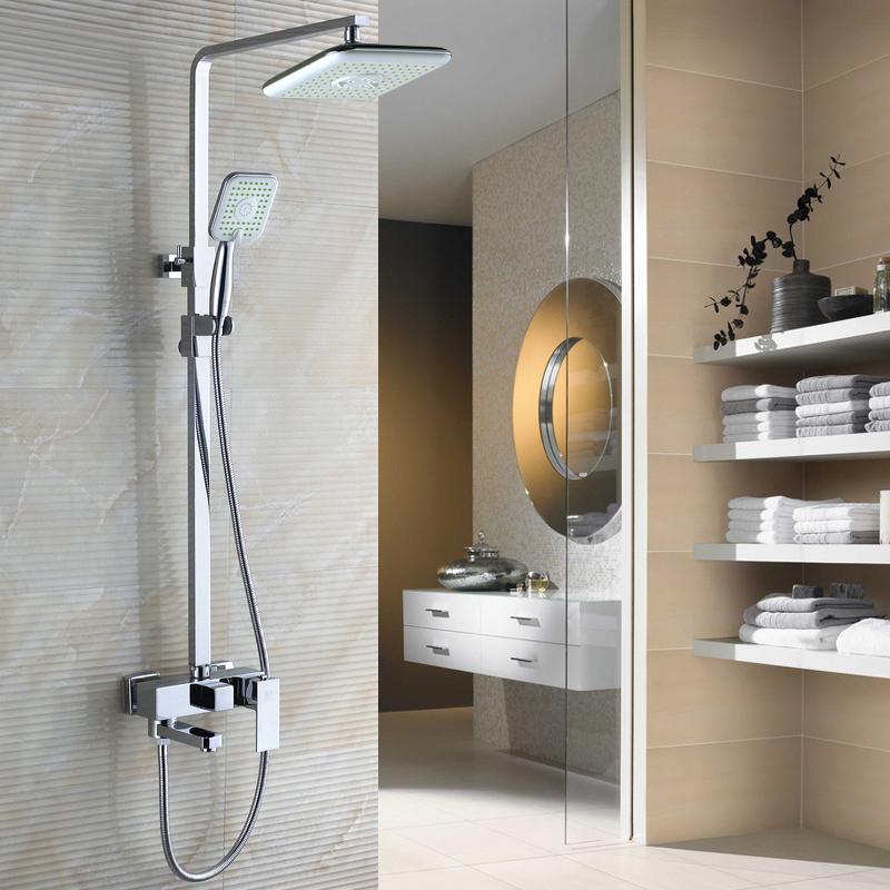 Bagno 3 doccia funzione doccia rubinetto set doccia - Rubinetti bagno ottone ...