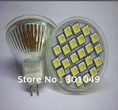 free shipping+MR16  5050 24 led spot lighting+smd led