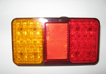 HOT SELL LED BOAT TRAILER TRUCK TAIL LIGHT E-MARKER APPROVAL 40 LED(China (Mainland))