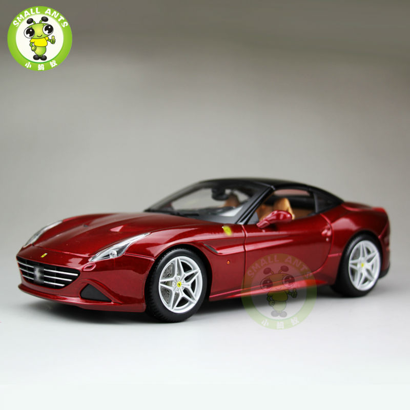 1/18 California T Signature Series Diecast Car Model Close Top Bburago BBU16902 Red(China (Mainland))