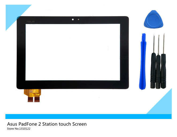 Touch Screen glass Digitizer capacitive touchscreen Replacement for Asus PadFone 2 Station- Black - With Logo (+free DIY tools)<br><br>Aliexpress