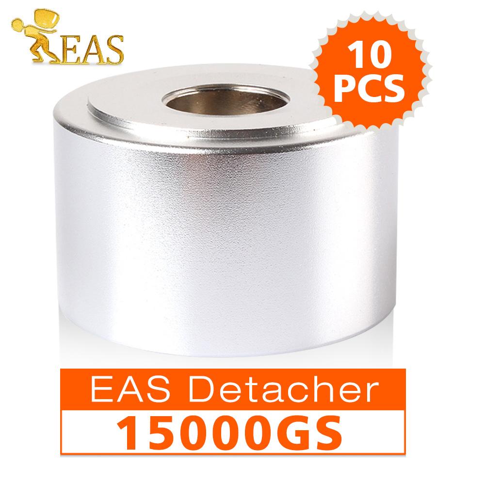 10Pcs/lot Strongest Universal Magnetic detacher Checkpoint EAS Hard Tag Detacher eas tag Remover 15000GS(China (Mainland))