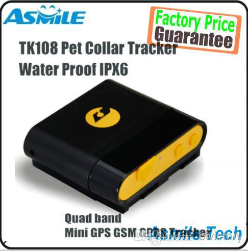 Professional Waterproof GPS tracker Anywhere TK108 can insert Collar for dog/pet Monitor Tracking Anti-theft Alarm Tool Device(China (Mainland))