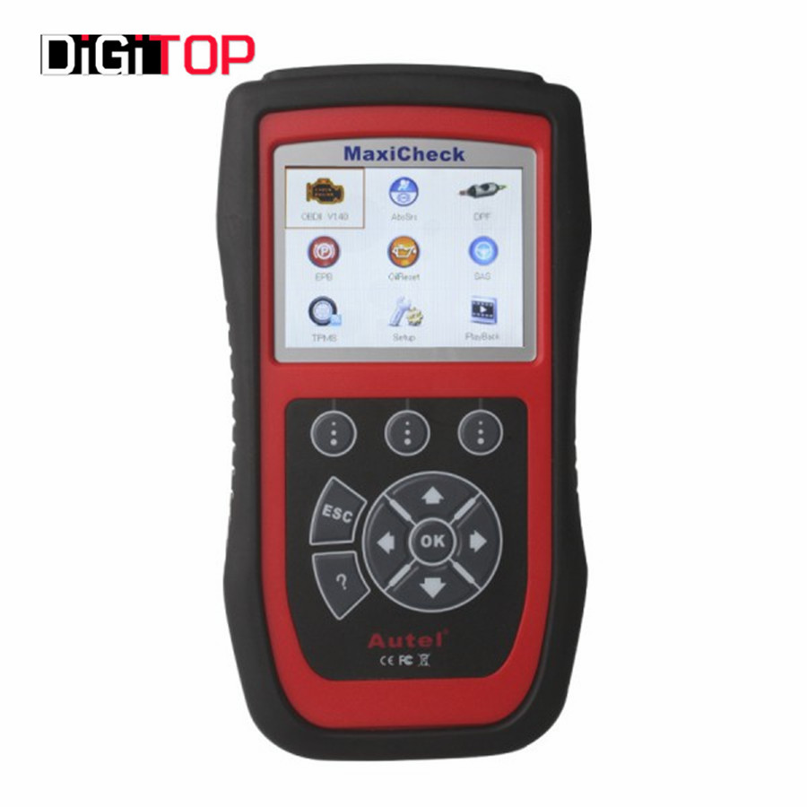 Promotion Autel MaxiCheck Pro EPB/ABS/SRS/TPMS/DPF/Oil Service/Airbag Rest tool Diagnostic Function Free Online Update(China (Mainland))