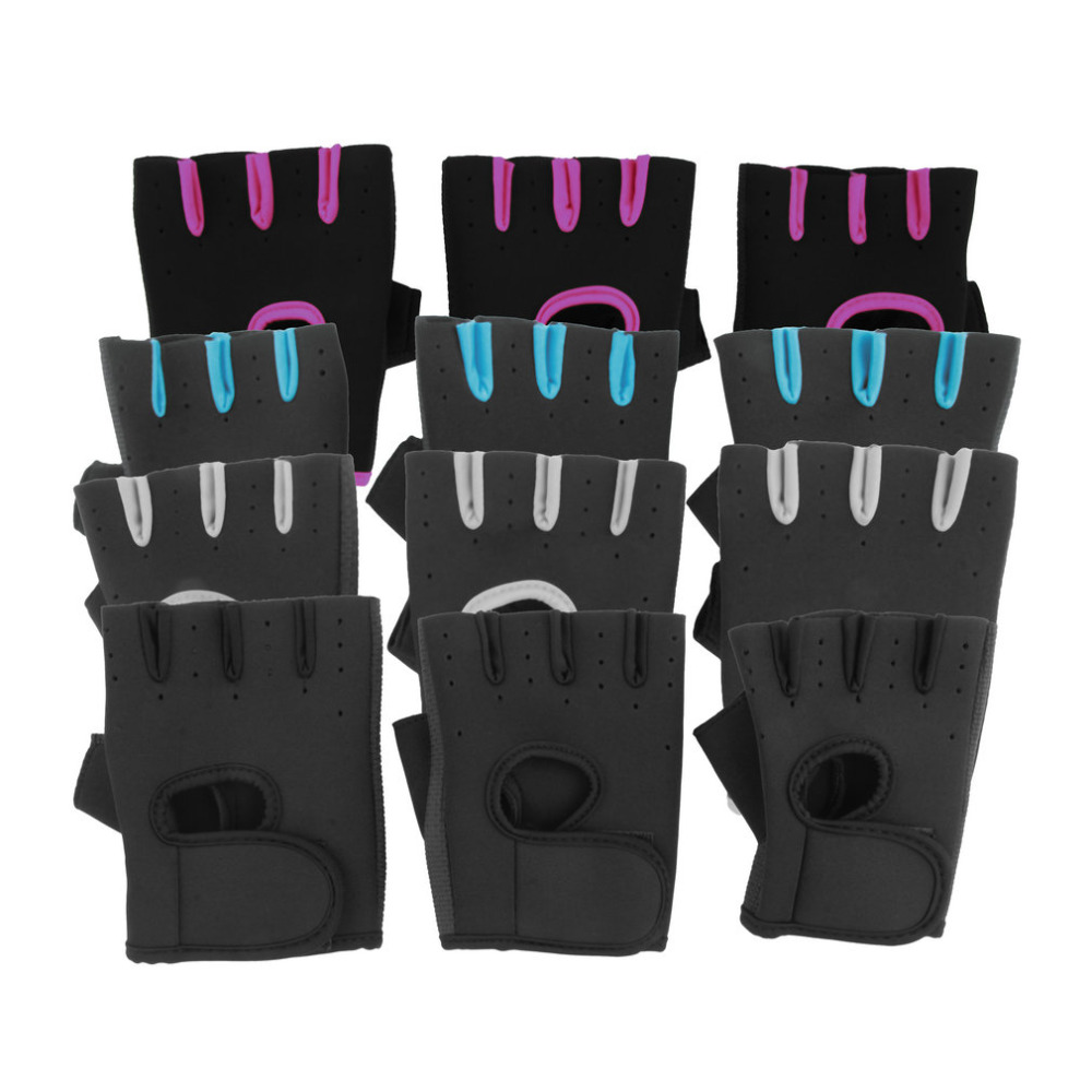 1pair Sports Gloves Cycling Fitness Exercise Training Gym Gloves Half Finger Weightlifting Gloves Multifunction for Men WomenОдежда и ак�е��уары<br><br><br>Aliexpress