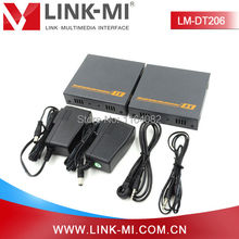 LINK-MI LM-DT206 HD Video 1080P 60Hz 200m VGA Extender Over Single Cat6 Cable With 3.5mm Stereo Audio