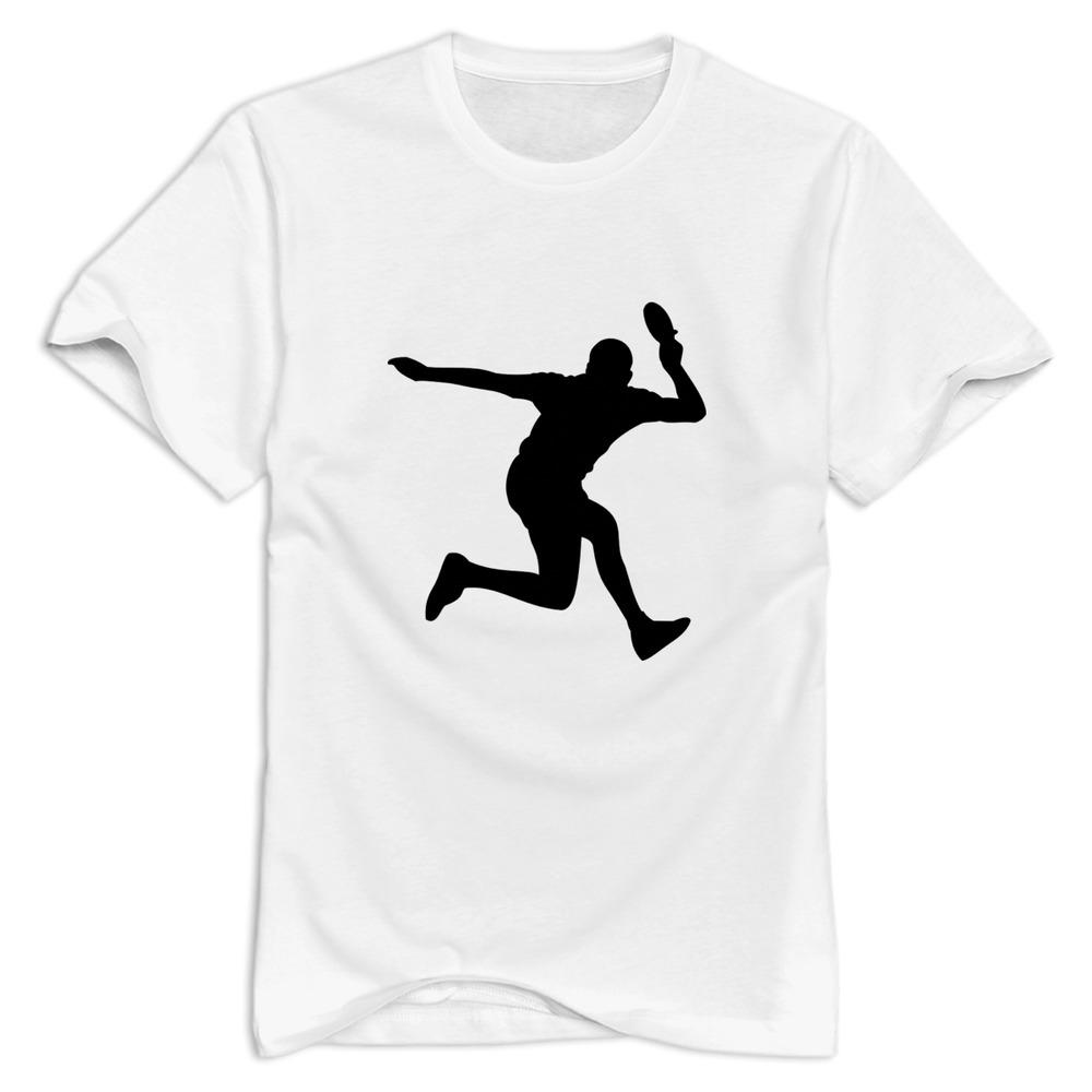 brand new Table Tennis men's tee shirt Design Own o neck t-shirt men(China (Mainland))