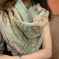 New winter scarf for women dual use scarves air condition Sun voiles textured shawls