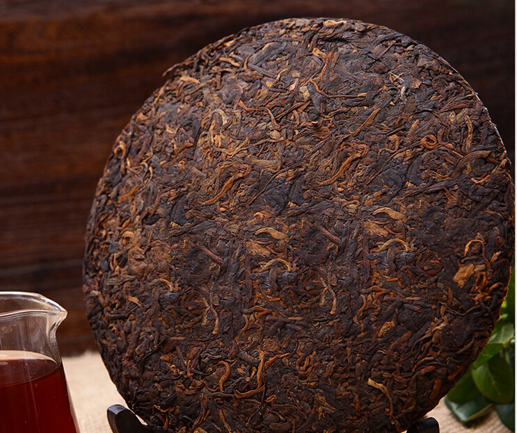Made in1998 ripe pu er tea 330g oldest puer tea ansestor antique honey sweet dull red