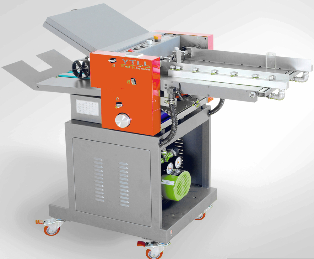 folding machine for paper