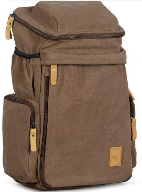 Men's Casual Vintage Canvas Backpack Messenger Rucksack school Satchel Crossbody Outdoor Hiking Camping bag Back Pack Hot Sale