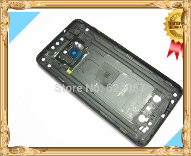 Оригинальный черный корпус задняя крышка батарейного отсека с помощью Power +кнопка громкости для HTC один / 801e / М7