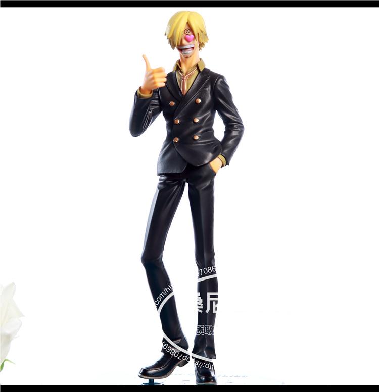 HOT NEW ONE PIECE model Sanji cosplay Western Toys free shopping(China (Mainland))