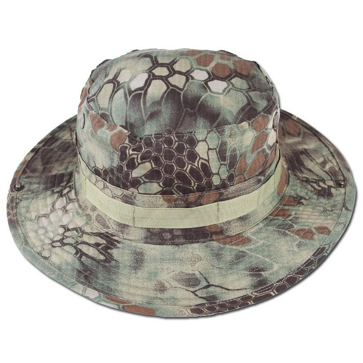 New Camping Jungle Tactical Camouflage Boonie Hats Militares Outdoor Ben Nepal Hiking Fishingman Hunting font b