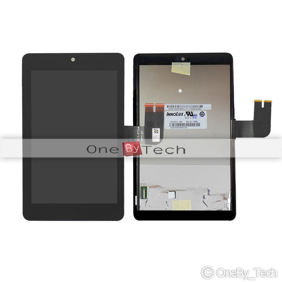 For ASUS MeMo Pad HD 7 ME173X (Innolux) Tablet PC Touch Screen Panel Digitizer Glass + LCD Display Panel Assembly Replacement(China (Mainland))